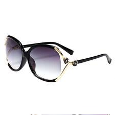 Women Myopia Glasses Large Frame Nearsighted Eyewear UV400 Sunglasses -0.5~-6.0