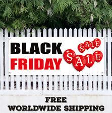 BLACK FRIDAY SALE Advertising Vinyl Banner Flag Sign CYBER MONDAY DEALS