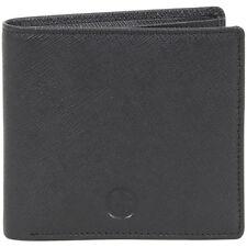 Giorgio Armani Men's Portafoglio Genuine Leather Bi-Fold Wallet