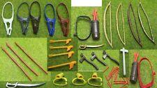 Playmobil armas lanzas indios cuchillo arco flechas Western ACW (w7)