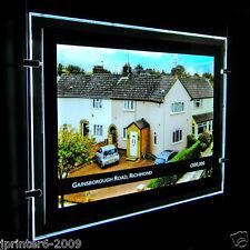 A4 A3 A2 A1 LED Fenster Licht Tasche Leuchttafeln Immobilienmakler Display