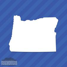Oregon OR State Outline Vinyl Decal Sticker