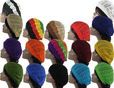 c9e8adfa Womens Fashion Crochet Beanie Hat Knit Beret Skull Cap Tam