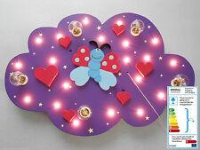 """Kinderlampe Deckenlampe """"Susi Schmetterling"""" handgefertigt und individuell"""