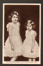 PRINCESS ELIZABETH & MARGARET ROSE (ROYAUME-UNI) T.H.R.