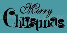 ~ ITEM #3620 E Primitive Stencil ~ MERRY CHRISTMAS