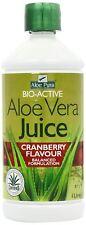 Aloe Pura Aloe Vera Juice Max Strength Cranberry 1ltr
