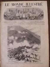 MONDE ILLUSTRE 1874 N 887 ESPAGNE LA GUERRE CARLISTE