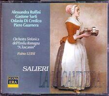 SALIERI: LA LOCANDIERA Alessandra Ruffini FABIO LUISI 2CD Sarti Di Credico