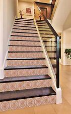 3D Stripe 42 Stair Risers Decoration Photo Mural Vinyl Decal Wallpaper AU Lemon