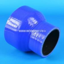 Silicone Hose Straight Reducer Blue SELECT SIZE Demon Motorsport (Black Core)