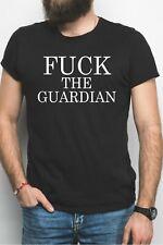 F*ck the Guardian Black T-Shirt - UK Brexit