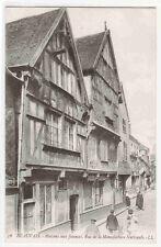 Maisons Faiences Rue Manufacture Nationale Beauvais France postcard