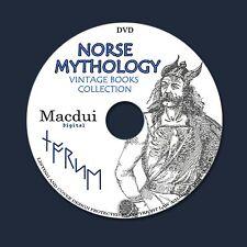 Norse, Viking Mythology 204 PDF on DVD Runes Asgard Thor Odin Teutonic Vikings