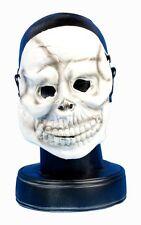Evil Skeleton Rubber Latex Halloween Face Mask Fancy Dress Accessory P7270