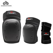 Skateboard Bmx Mtb Bike Protective Gear Knee Brace Elbow Pads Wrist Guards Set