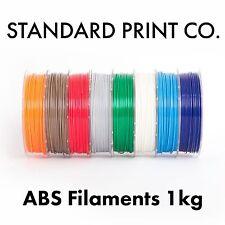 3D Printer Filament ABS 1.75mm 1KG, 500G - Australian Stock - Standard Print Co.