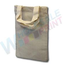Tiny calico bags hobby craft mini totes cotton screen printing heat transfers