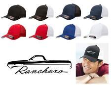 1970 1971 Ford Ranchero Truck Classic Color Outline Design Hat Cap