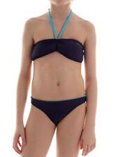 Brunotti Bandeau Bikini Bademode Samong blau Polster Haken Höschen
