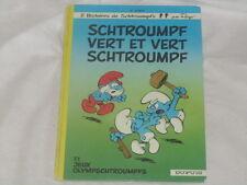 bd les SCHTROUMPFS n°9 : Schtroumpf vert et vert Schtroumpf - EO / DOS ROND Peyo