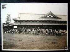 Japan~1929 Nara Park~Feeding the Sacred Deer ~ Photo