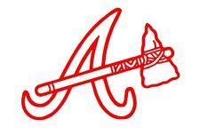 Atlanta Braves  MLB Team Logo Decal Stickers Baseball
