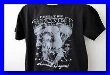 Feel the power, Harley motor, evo, t-shirt, sobre tamaño, m-5xl, plus Size, Heavy Cotton,