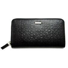 Calvin Klein Women Zip Continental Wallet 74287 Black Black