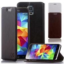Handy Hülle Samsung Galaxy S3 S4 S5 mini Schutzhülle Flip Cover Case Etui Tasche