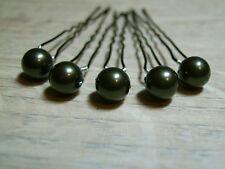 Lot Accessoires cheveux Pic Epingle Mariée/Mariage Kaki perle ( p robe de)