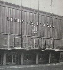 Leeds united home programmes V opposants A-R *, sélectionnez dans liste *