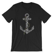 Anchor T-Shirt. 100% Cotton Premium Tee NEW