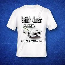 BRITISH CLASSIC, FORD LOTUS CORTINA MK1 1965, ENTHUSIASTS T SHIRT