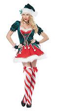 Sexy Santa's Helper Christmas Elf Adult Costume