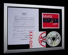 30 SECONDS TO MARS Kill Bury Me LTD CD FRAMED DISPLAY+EXPRESS GLOBAL SHIPPING!!