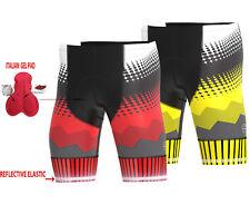DHERA Mens Cycling Shorts Gel Padding Outdoor Raccing Cycle Gear Tight Shorts