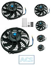 "7"", 9"", 10"", 12"", 14"", 16"" Universal Slim Electric Cooling Fan Reversible"