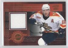 2000-01 Pacific Game Worn Jersey #9 Pavel Bure Florida Panthers Hockey Card