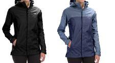 NWT $124.99 Under Armour Womens Storm Surge Jacket Waterproof hood black