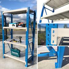 1.2M Length Steel Warehouse Racking Storage Garage Shelving Shelf Metal Shelves