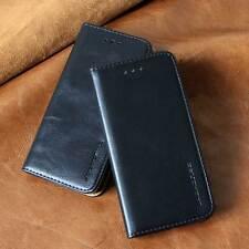 Luxus Leder Schutzhülle für Samsung Galaxy/Apple iPhone Smartphones Tasche Cover