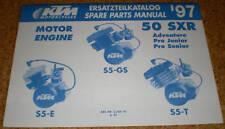 Teilekatalog KTM Motor / Engine 50 SXR - 1997!
