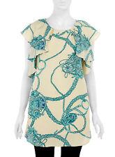 EVANS/LOVEDROBE Scarf Print Chiffon Frills Top/Dress  20