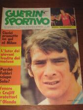 GUERIN SPORTIVO 1974/32 FEMI BENUSSI OLANDA CRUJFF