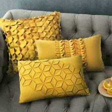 fait à la main plissé HOUSSE COUSSIN ART MODERNE oreiller jeté valises divan