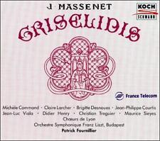 Massenet - Grislidis / Command  Larcher  Dasnoues  Courtis  Viala  Henry  Tregui