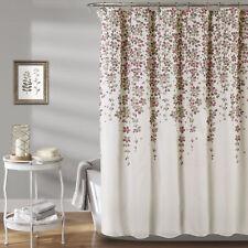 Weeping Flower Shower Curtain Purple/Gray 72X72