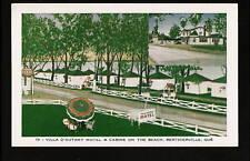 Berthierville Quebec c1940s Villa D'autray Motel Cabins