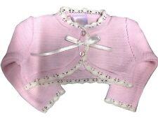 Baby BOW Knitwear Bolero Cardigan Ribbon Bow Knitted